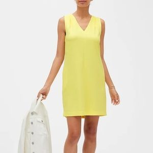Banana Republic Shoulder Pleat Shift Dress
